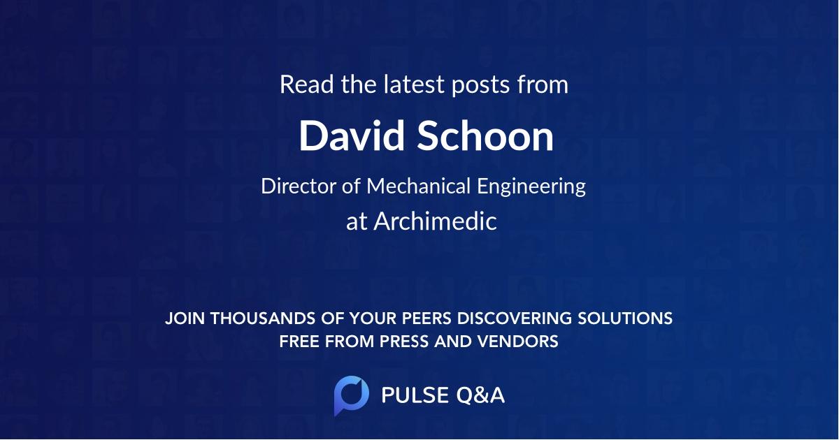 David Schoon