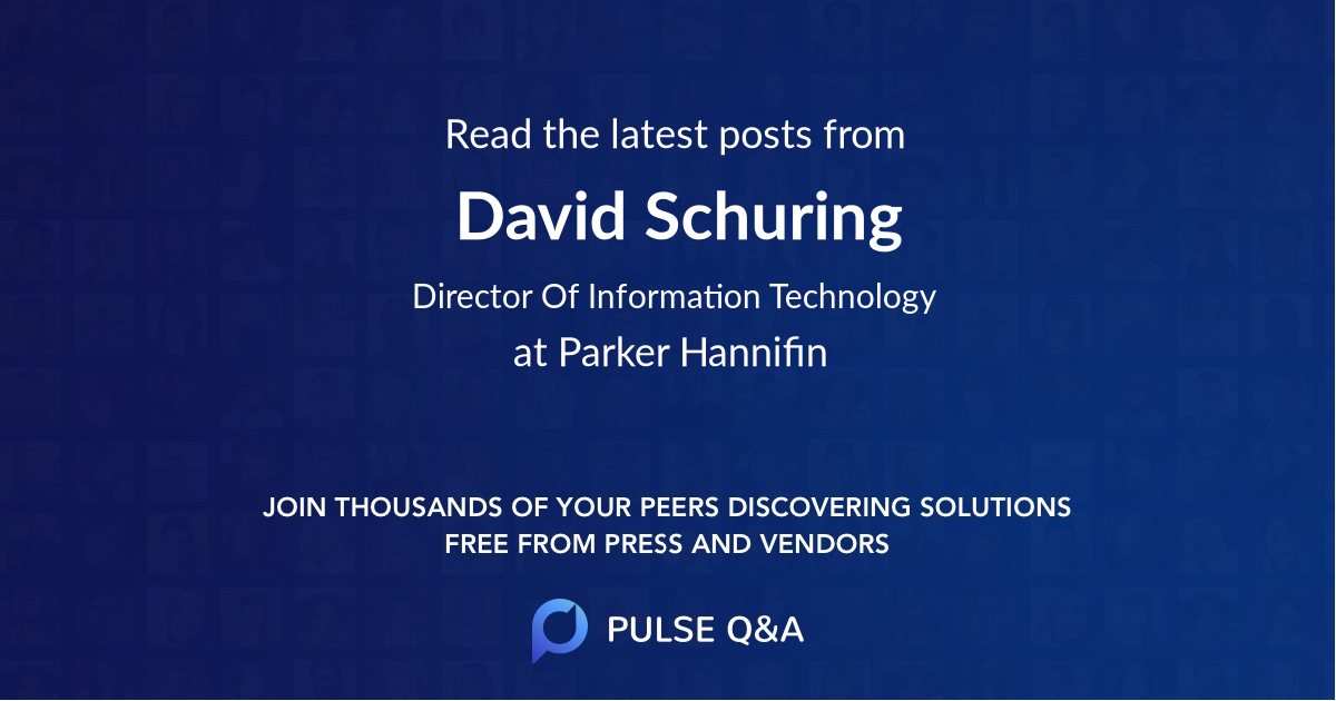 David Schuring