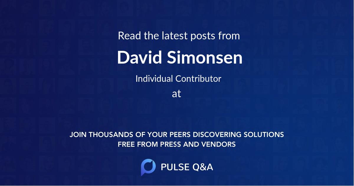 David Simonsen