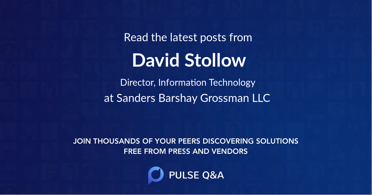 David Stollow