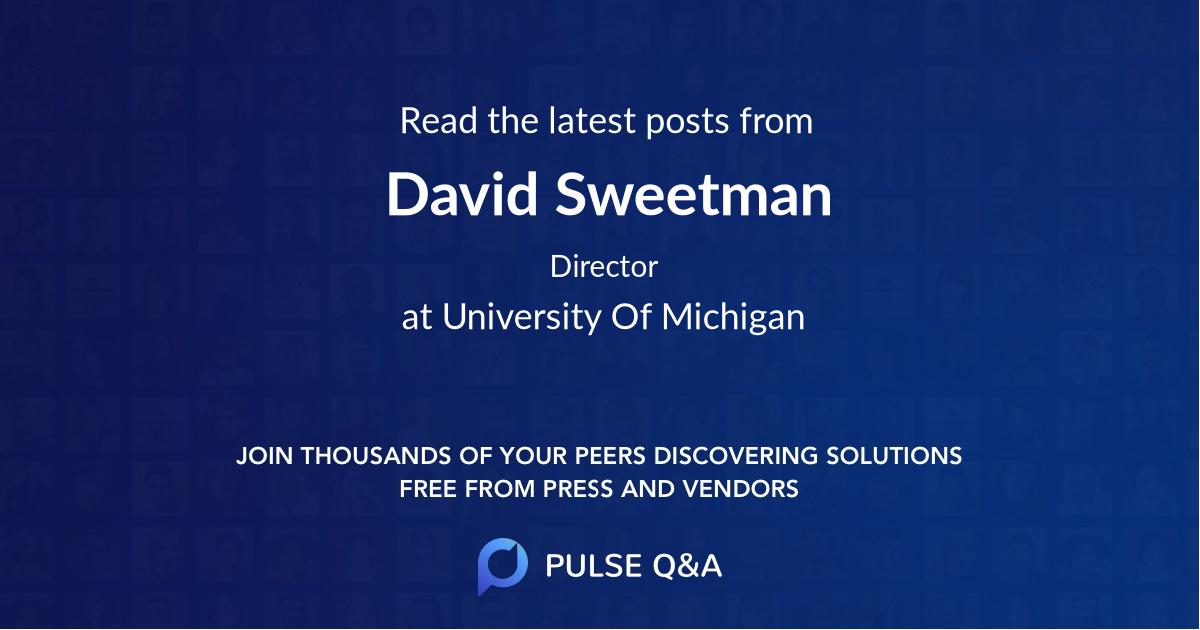 David Sweetman