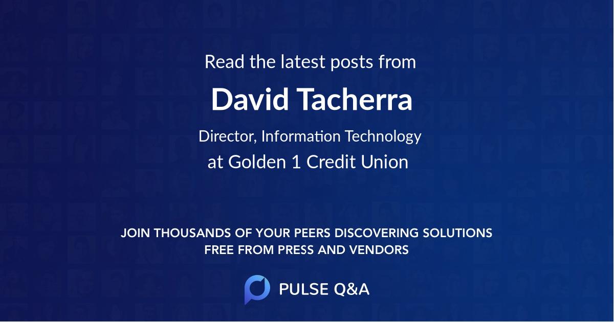 David Tacherra