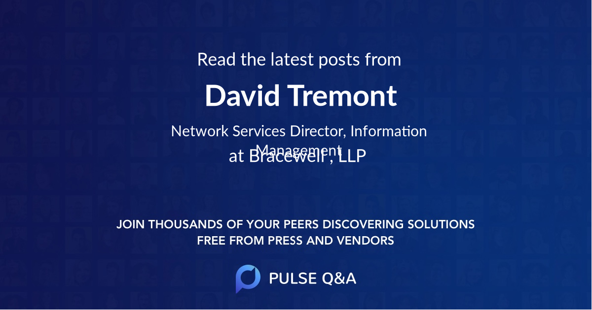 David Tremont