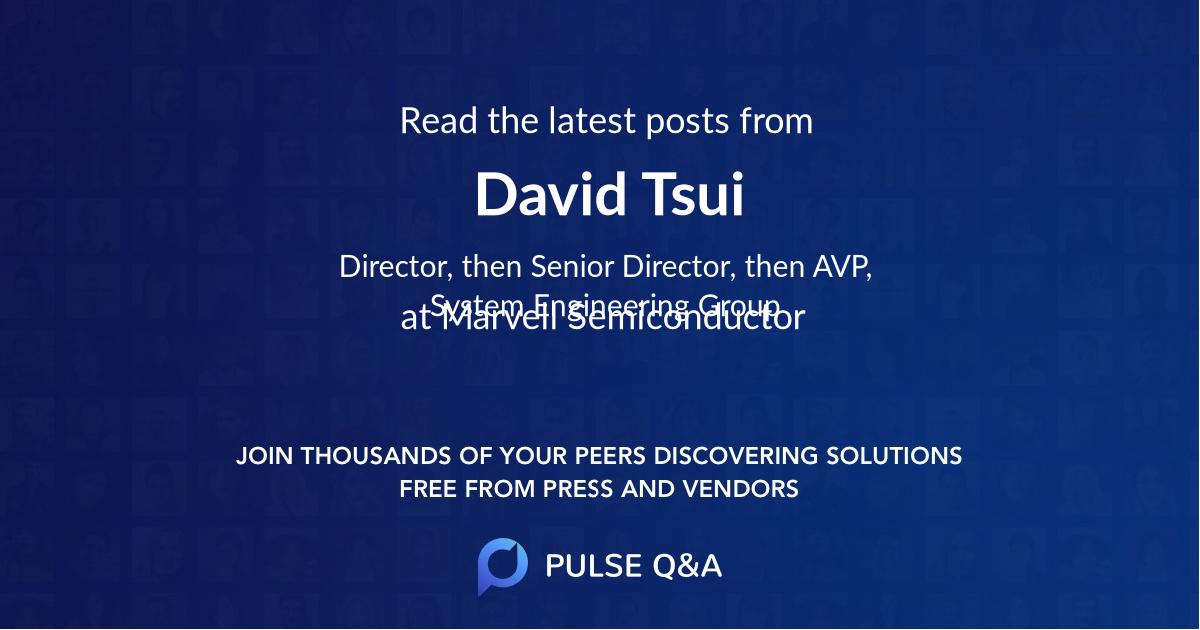 David Tsui