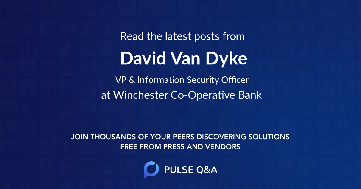 David Van Dyke