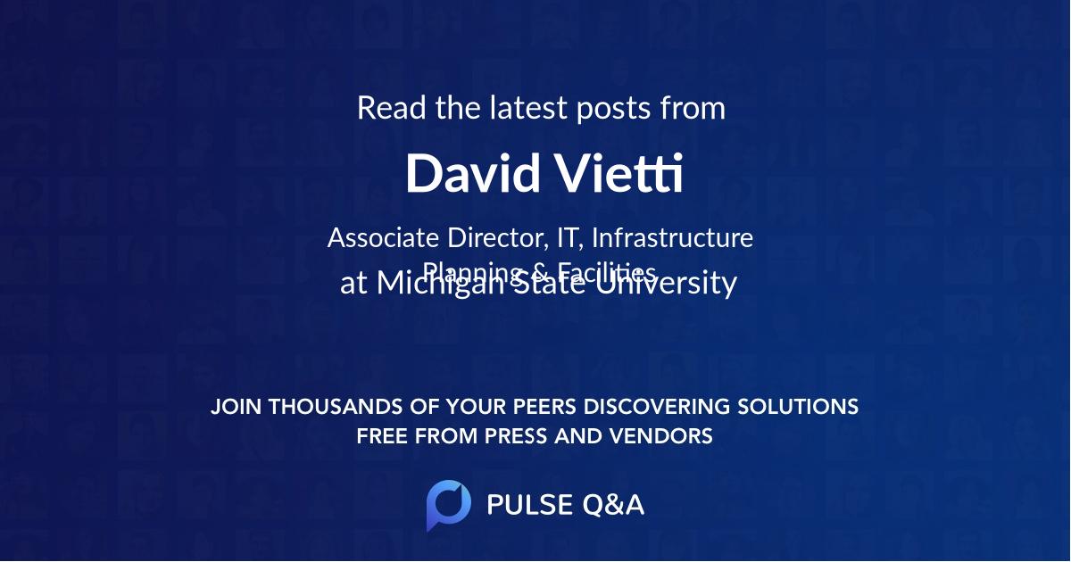 David Vietti