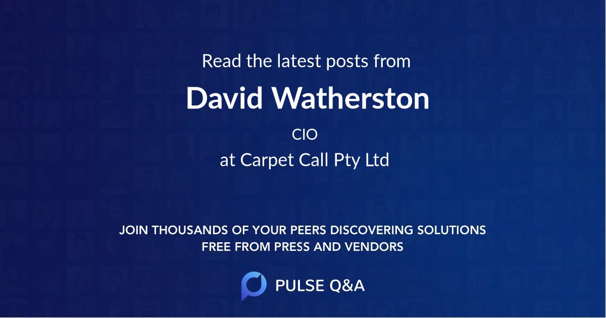 David Watherston
