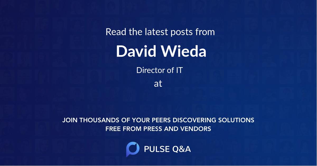 David Wieda