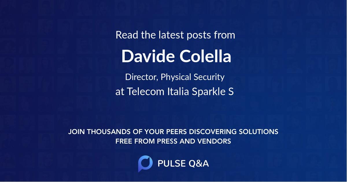 Davide Colella