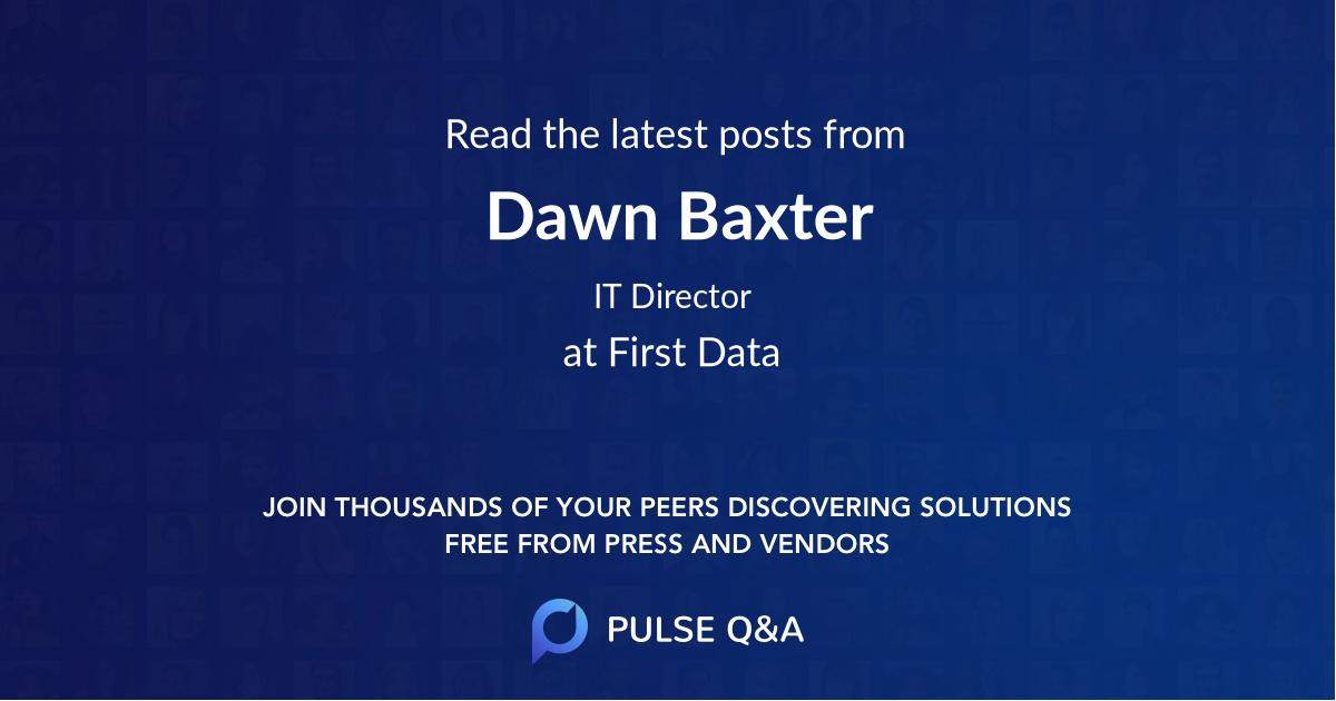 Dawn Baxter
