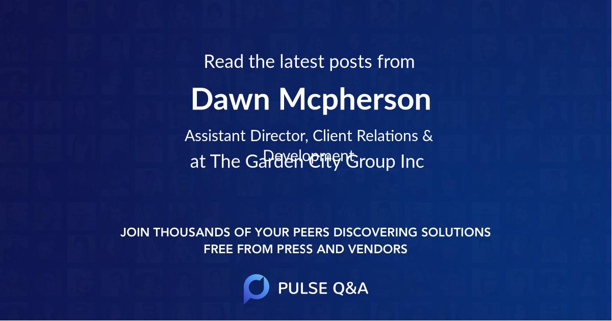 Dawn Mcpherson