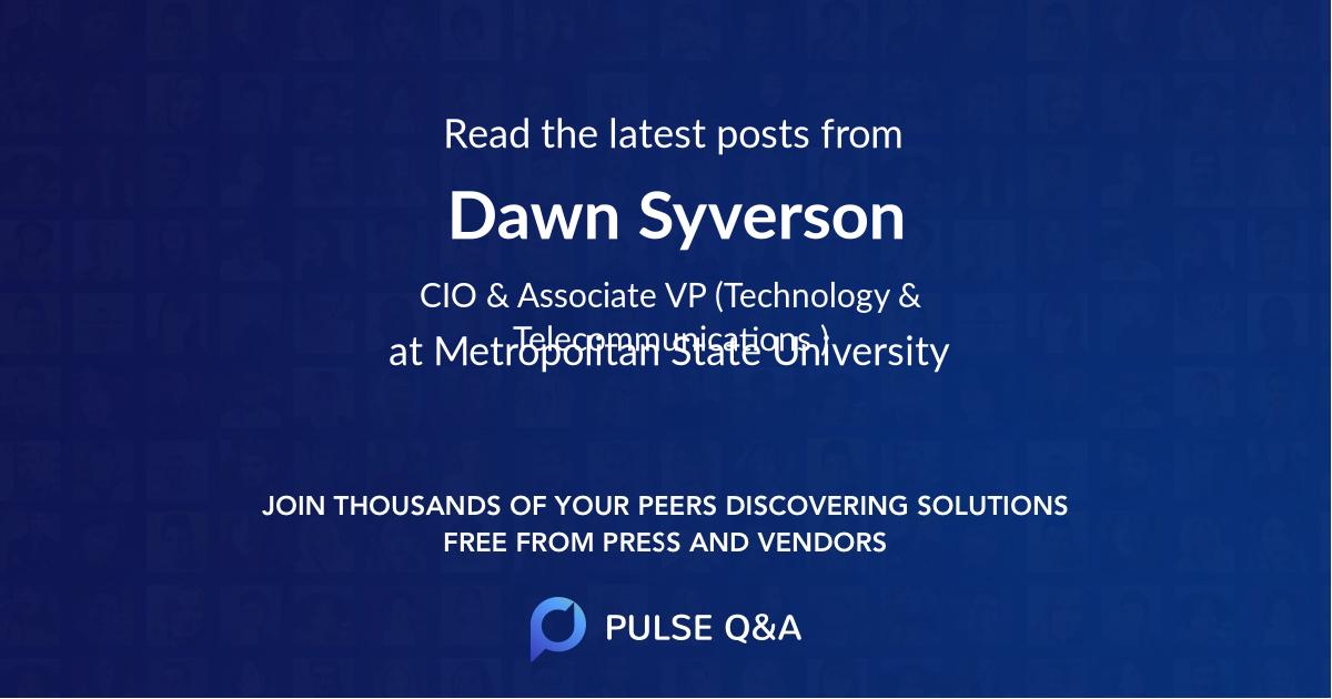 Dawn Syverson