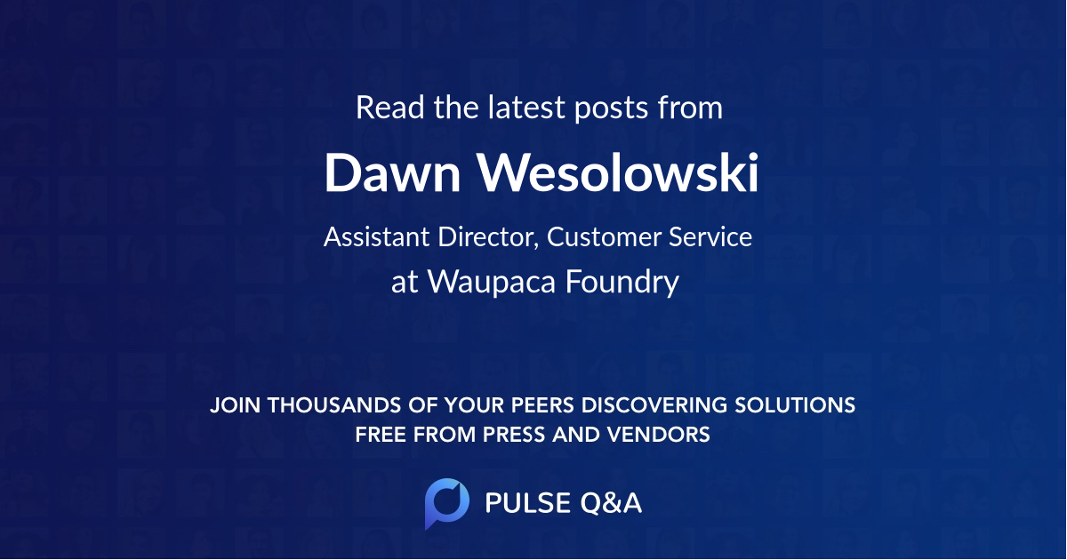 Dawn Wesolowski