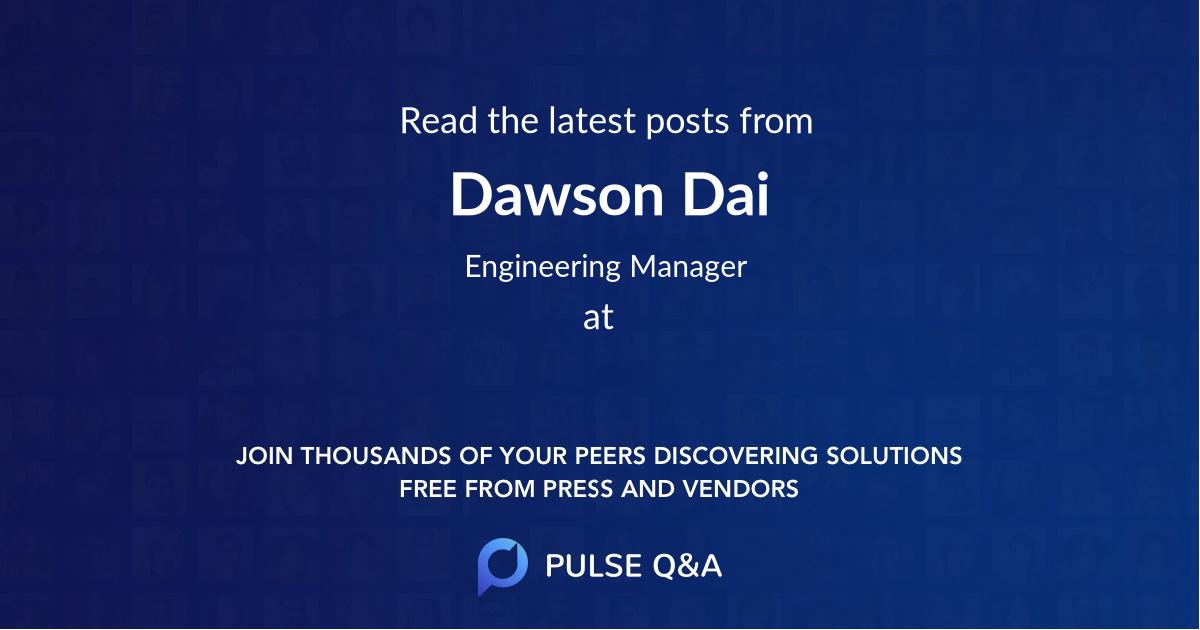 Dawson Dai