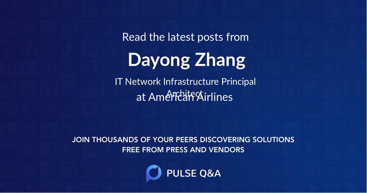 Dayong Zhang