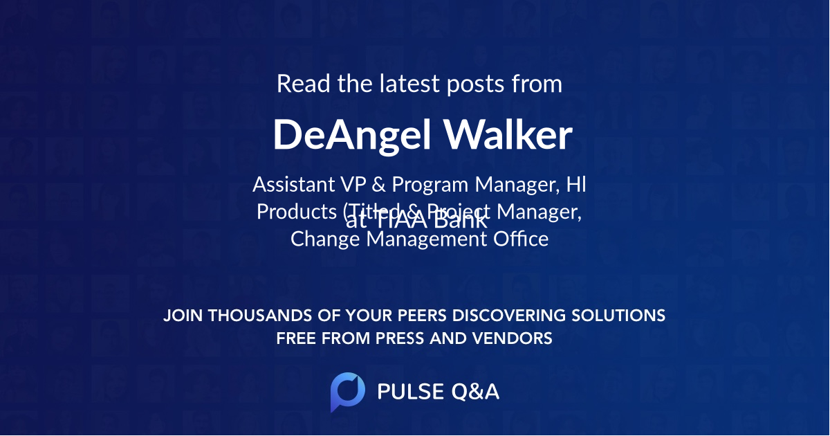 DeAngel Walker