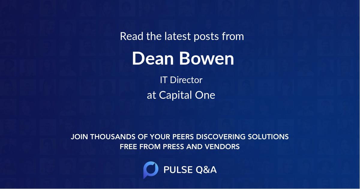 Dean Bowen