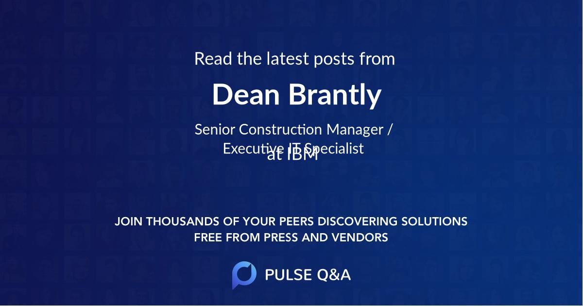 Dean Brantly