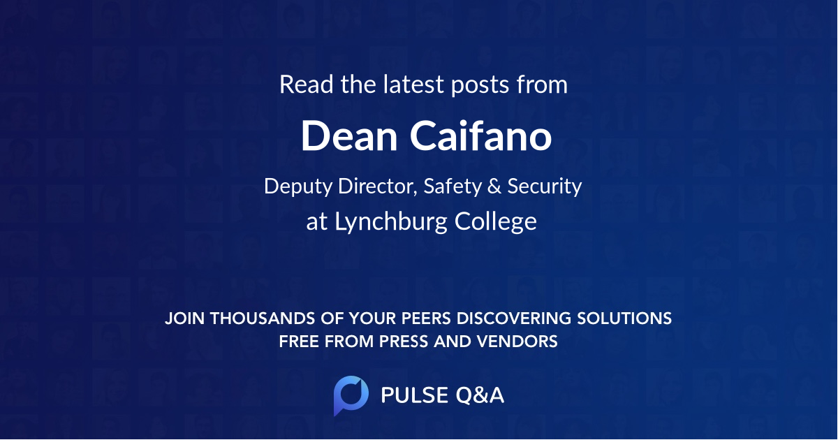 Dean Caifano