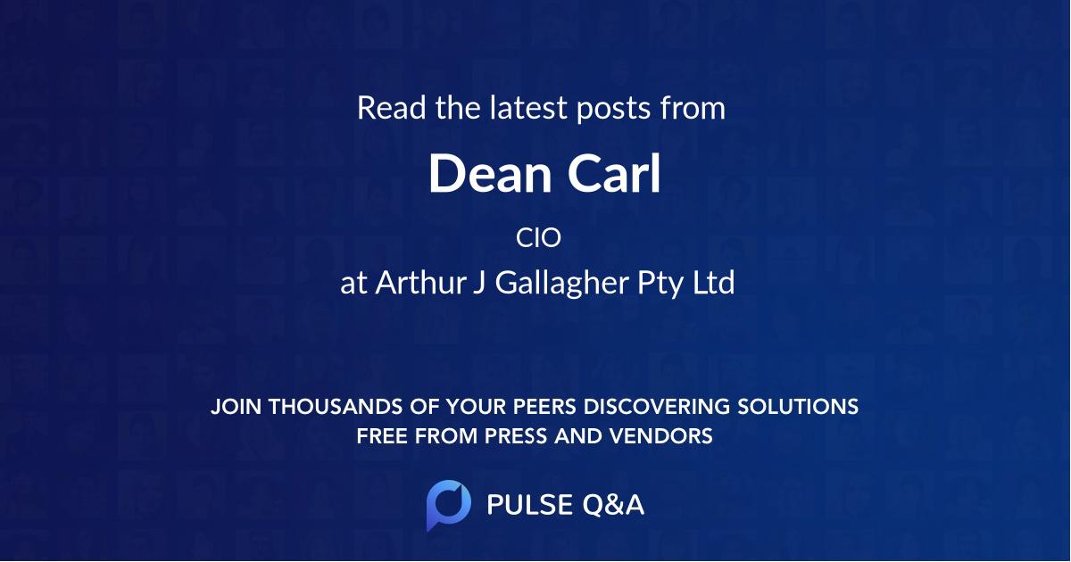 Dean Carl