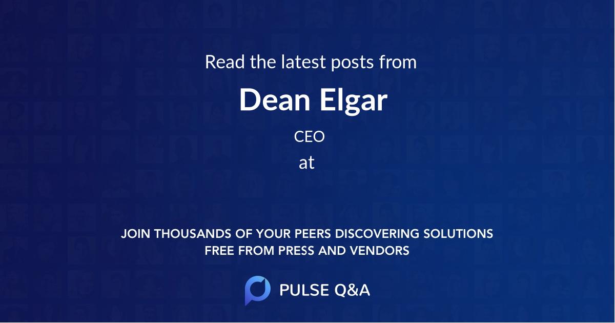 Dean Elgar