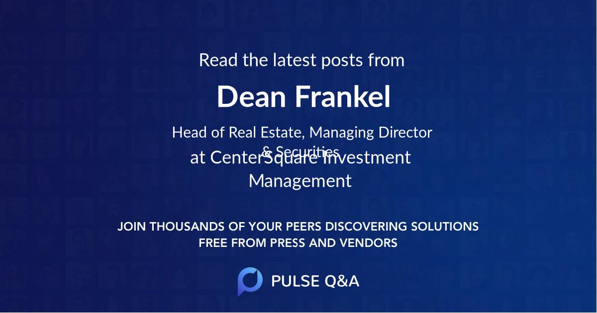 Dean Frankel