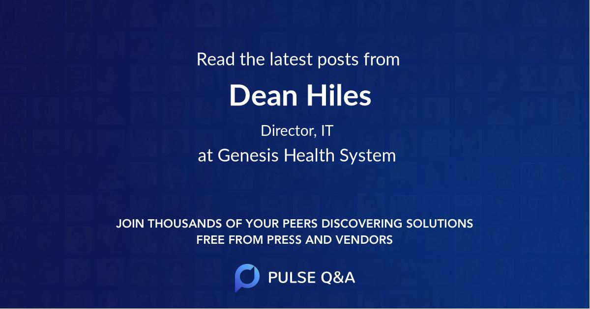 Dean Hiles