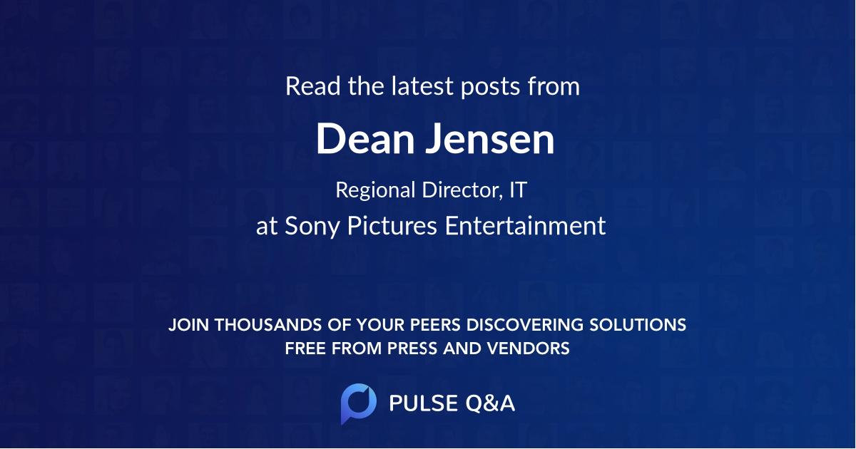 Dean Jensen