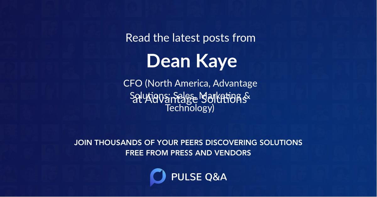 Dean Kaye