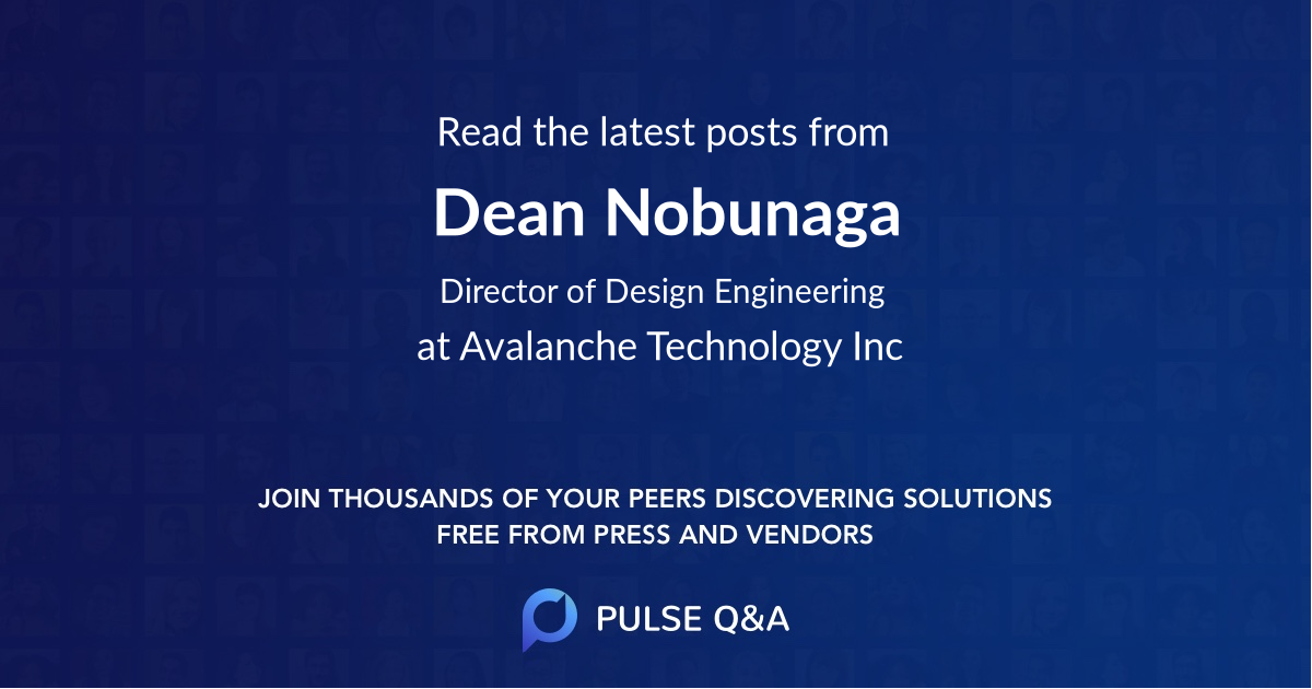 Dean Nobunaga
