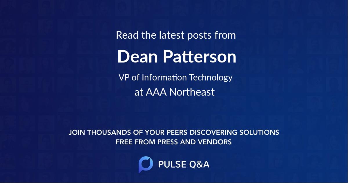 Dean Patterson