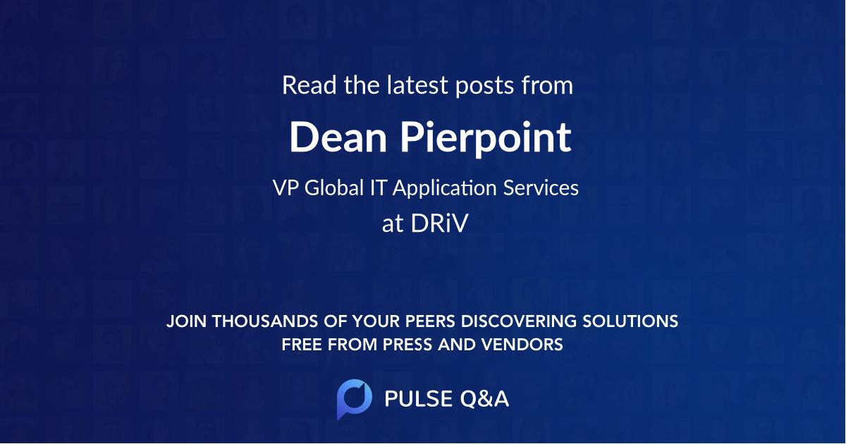 Dean Pierpoint