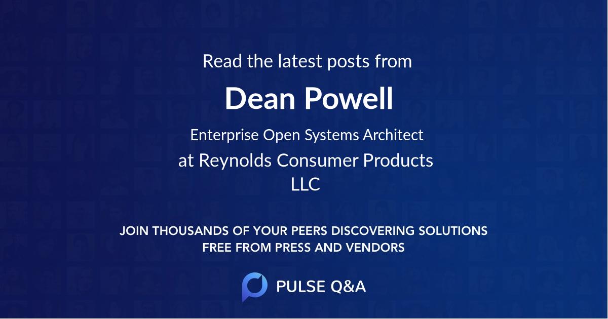 Dean Powell