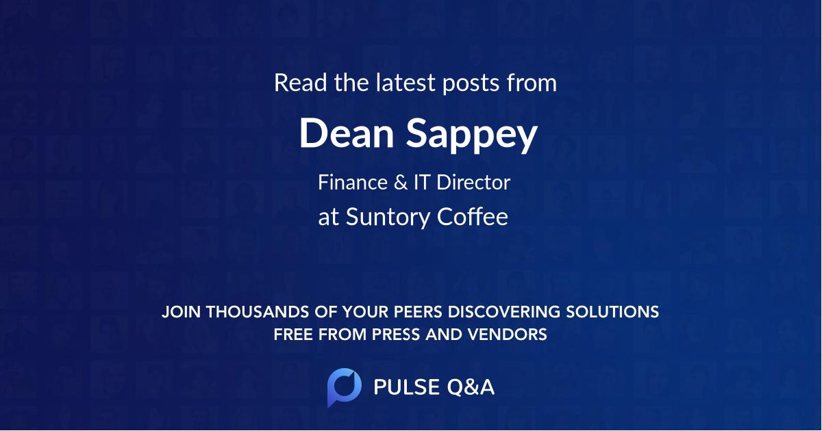 Dean Sappey