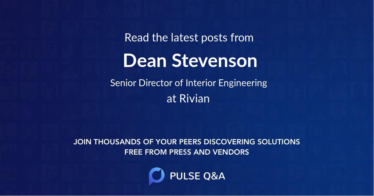 Dean Stevenson