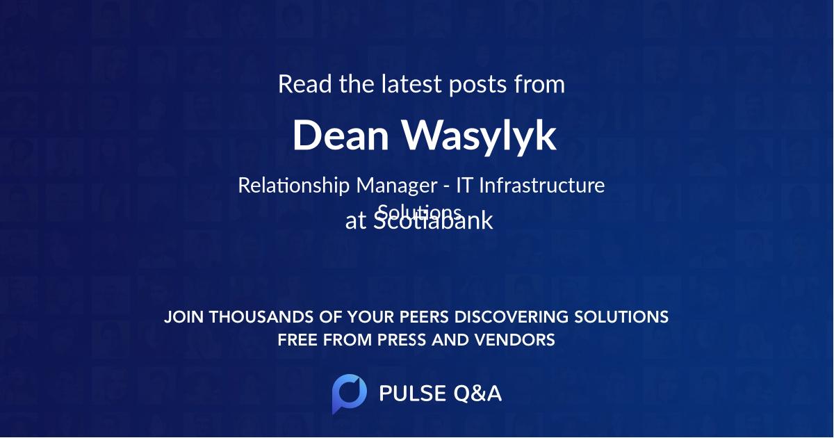 Dean Wasylyk