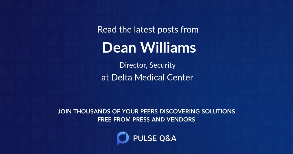 Dean Williams