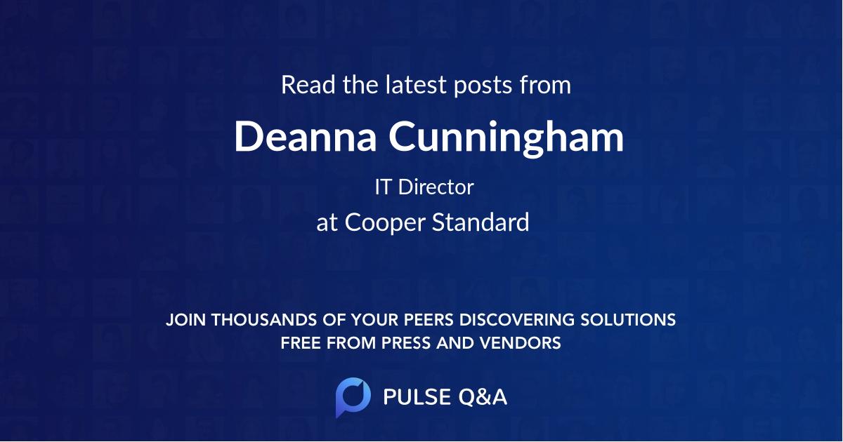 Deanna Cunningham