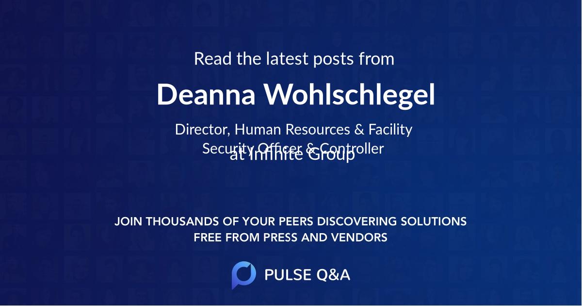 Deanna Wohlschlegel