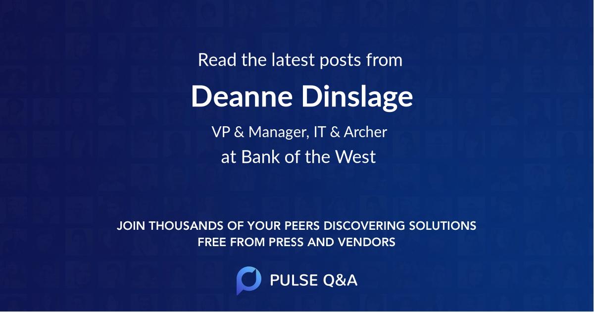 Deanne Dinslage