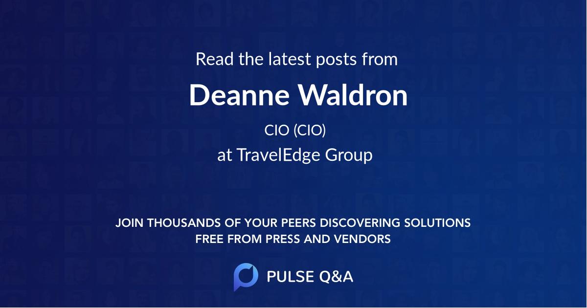 Deanne Waldron