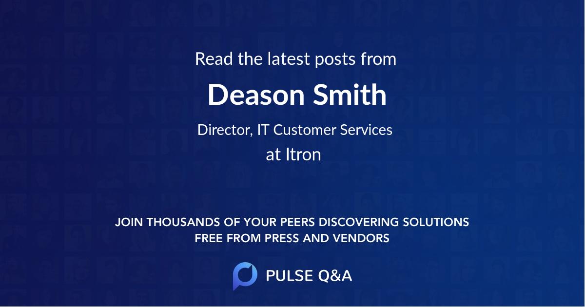Deason Smith