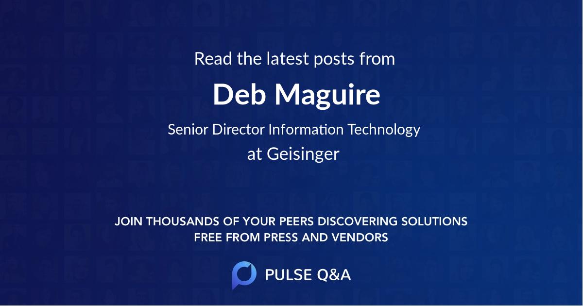 Deb Maguire