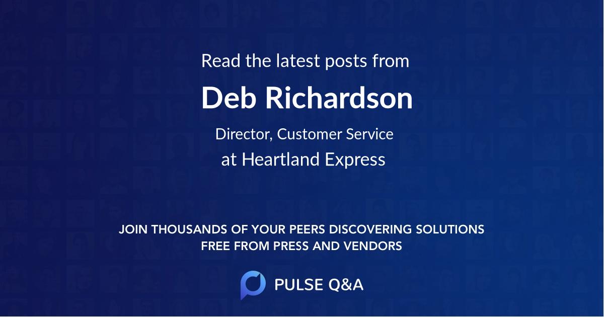 Deb Richardson