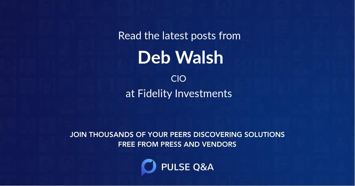 Deb Walsh