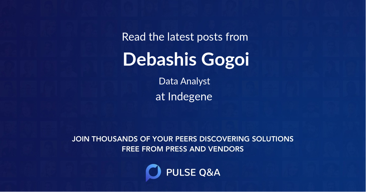 Debashis Gogoi