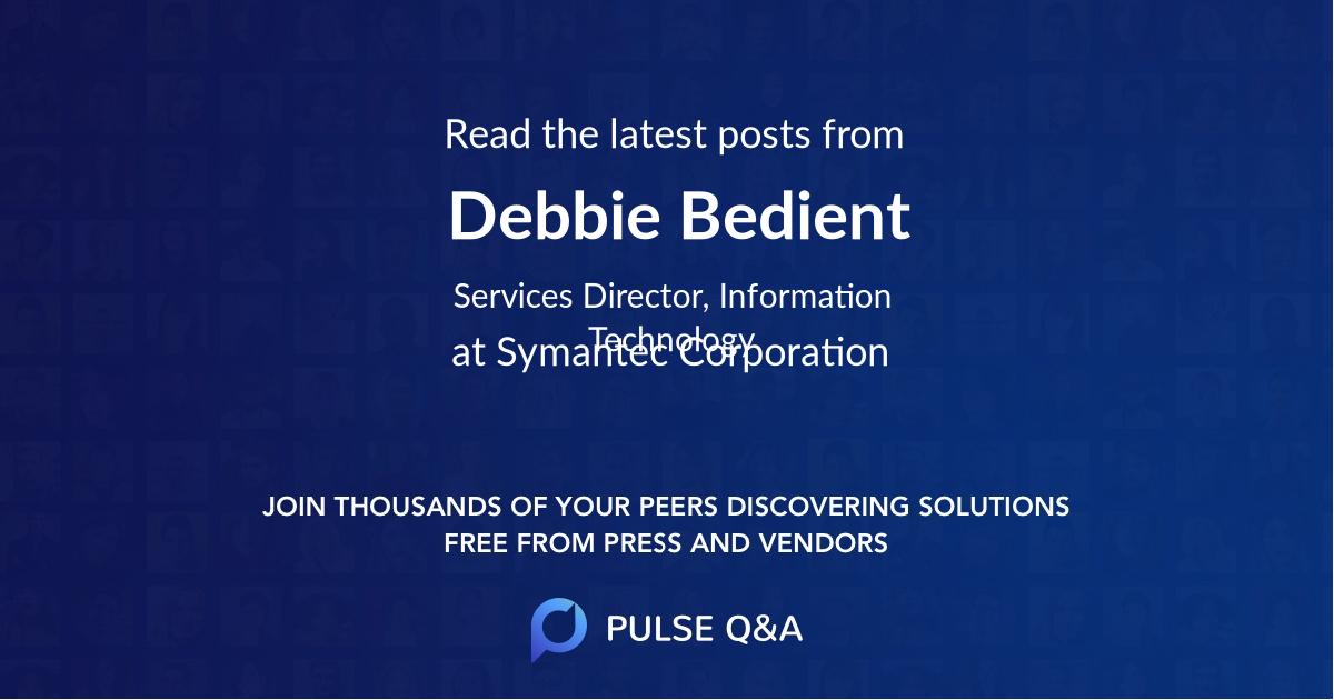 Debbie Bedient