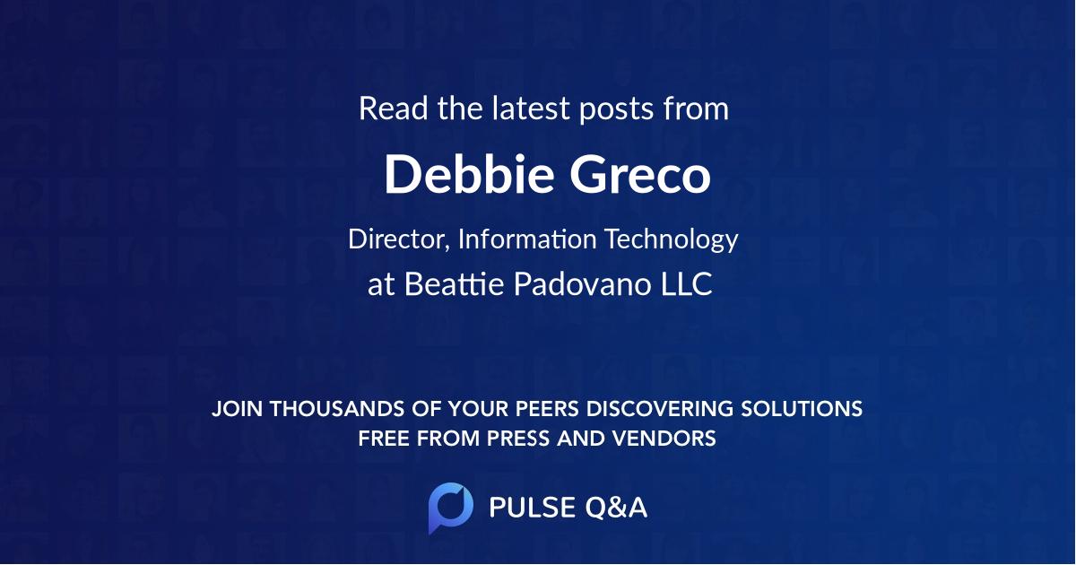 Debbie Greco