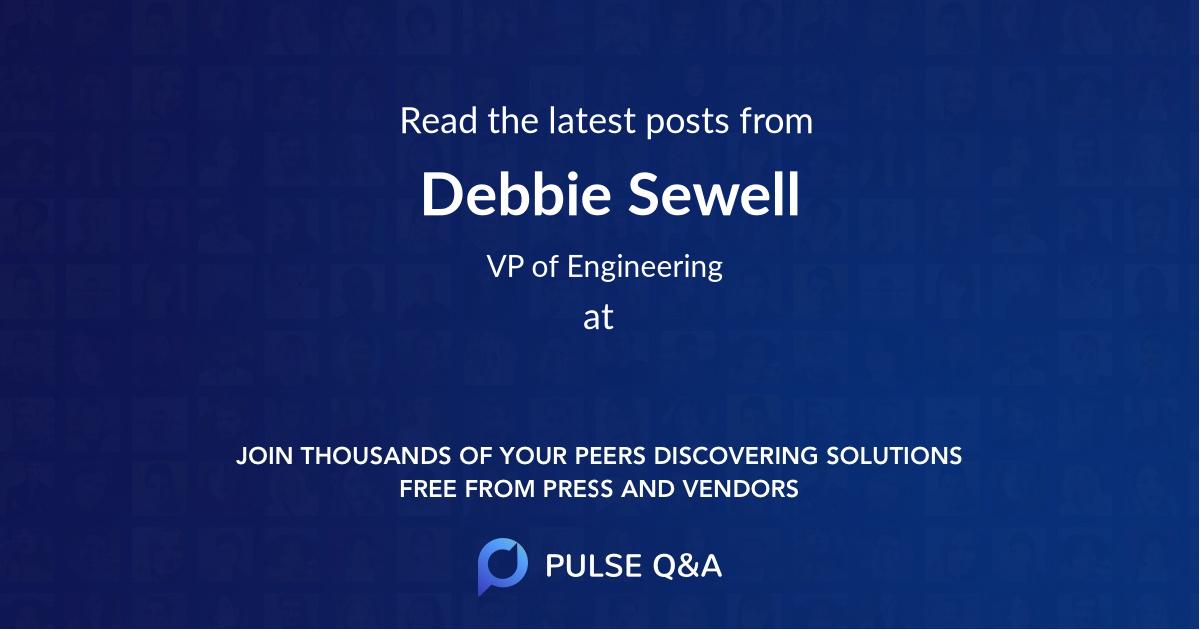 Debbie Sewell