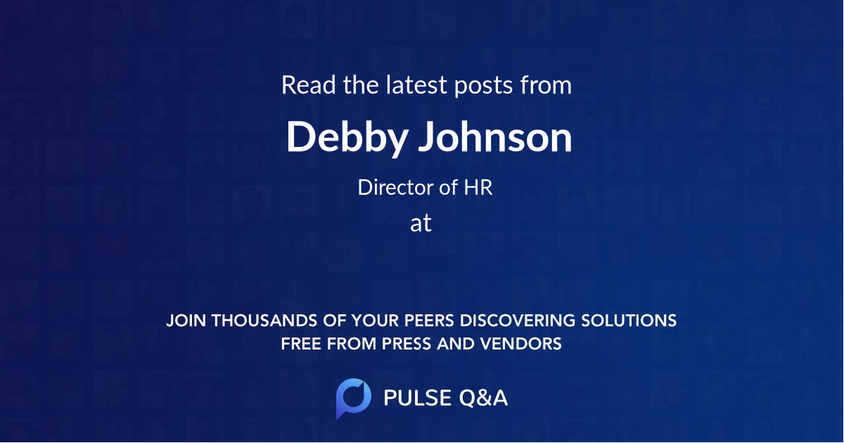Debby Johnson